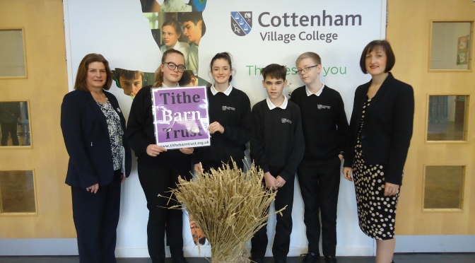 College supports Tithe Barn