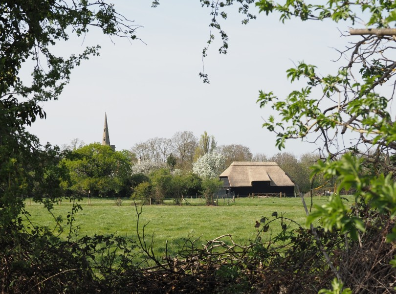 View of Tithe Barn